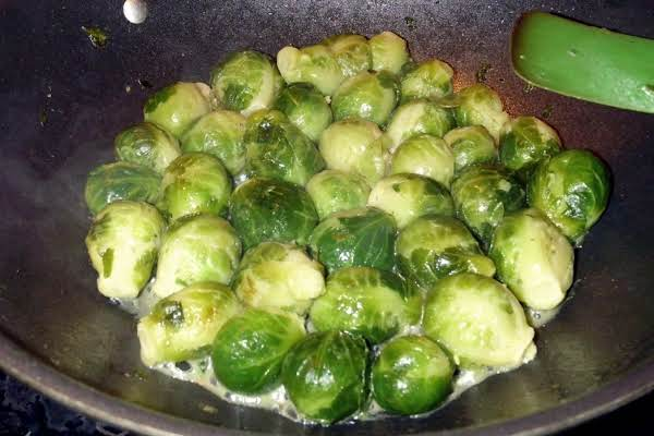 Brussels Sprouts In Brown Butter