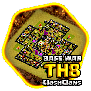 TH8 War Base COC 2017 for PC