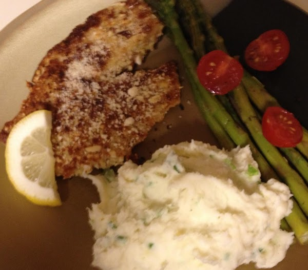 Almond Crusted Tilapia For Two Recipe