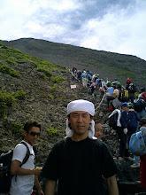Photo: 2006年07月24日 富士登山  7月22~23日 山頂を目指す 休日のためか登山渋滞・・・