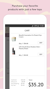 Birchbox- screenshot thumbnail