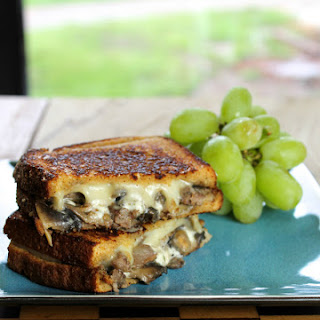 Steak, Mushroom & Swiss Grilled Cheese