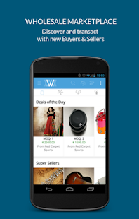 Wydr - Wholesale eCommerce App- screenshot thumbnail