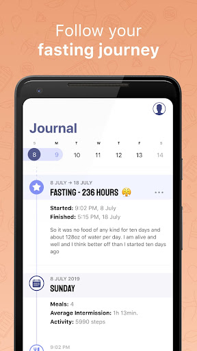 Simple: Intermittent fasting and meal tracking 5.3.7 screenshots 6