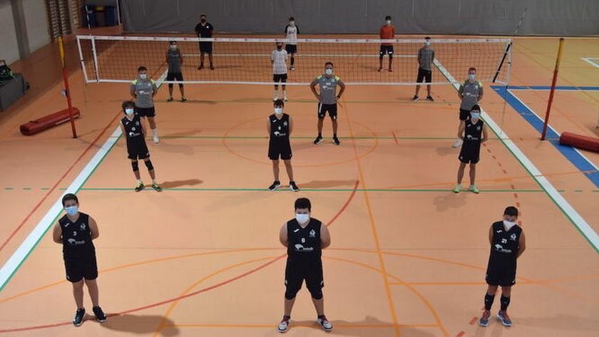 Los entrenamientos se desarrollan desde hace ya varias semanas en el Palacio.