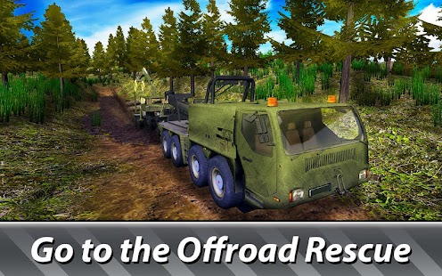 Tow Truck Simulator: Offroad Rescue - náhled
