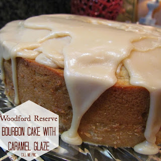 Woodford Reserve Bourbon Cake with Caramel Glaze / Call Me PMc