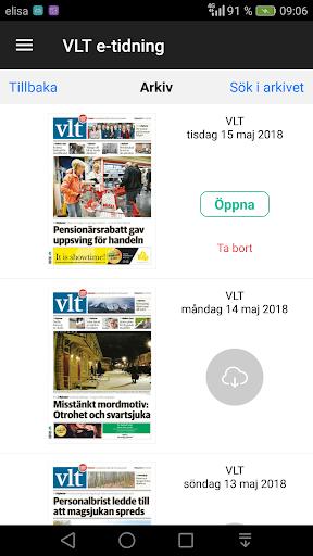 VLT e-tidning  screenshots 2