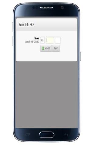 android CEK PAJAK KENDARAAN YOGYAKARTA Screenshot 1