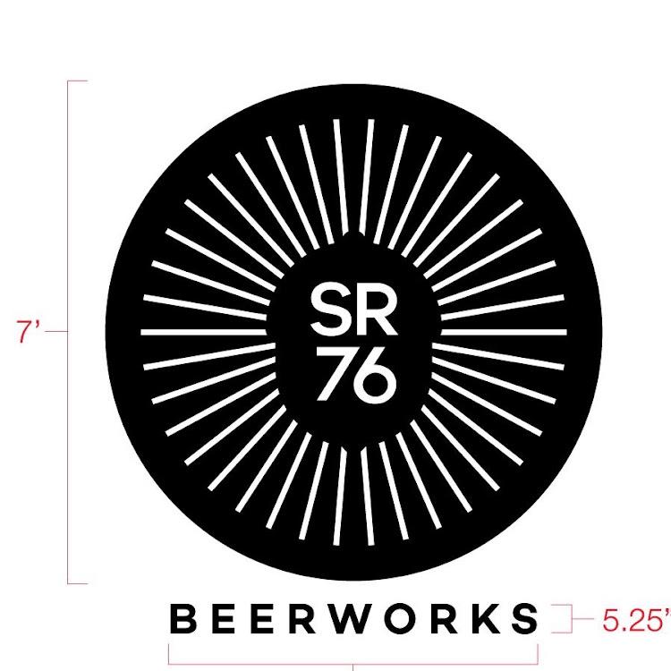 Logo of SR76 Beerworks Blueberry Saison