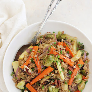 Roasted Root Vegetable Quinoa Pilaf