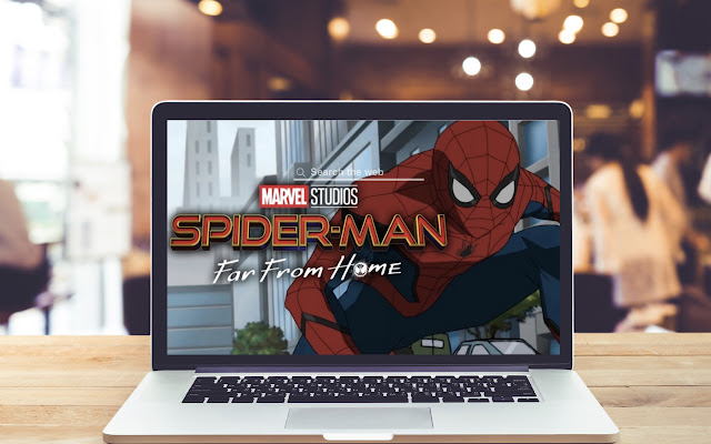 Spider Man Far From Home Wallpaper Theme