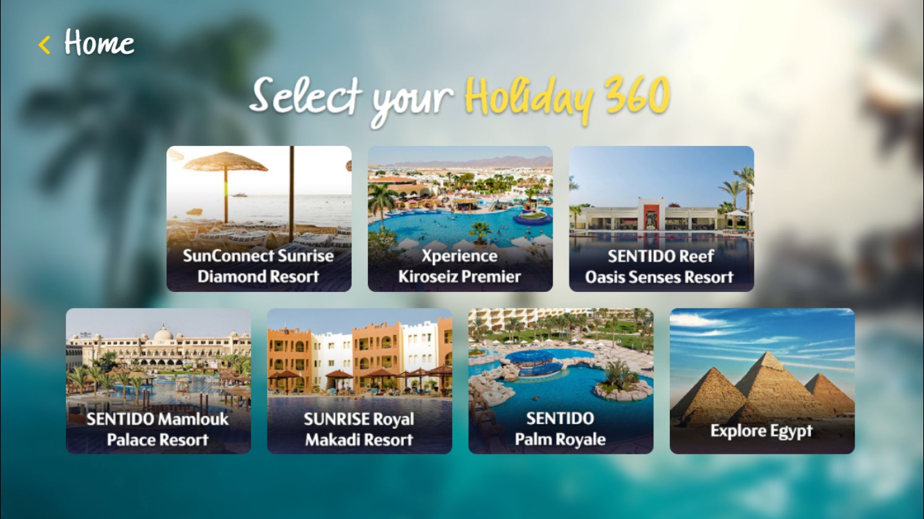 Thomas Cook Holiday 360- screenshot