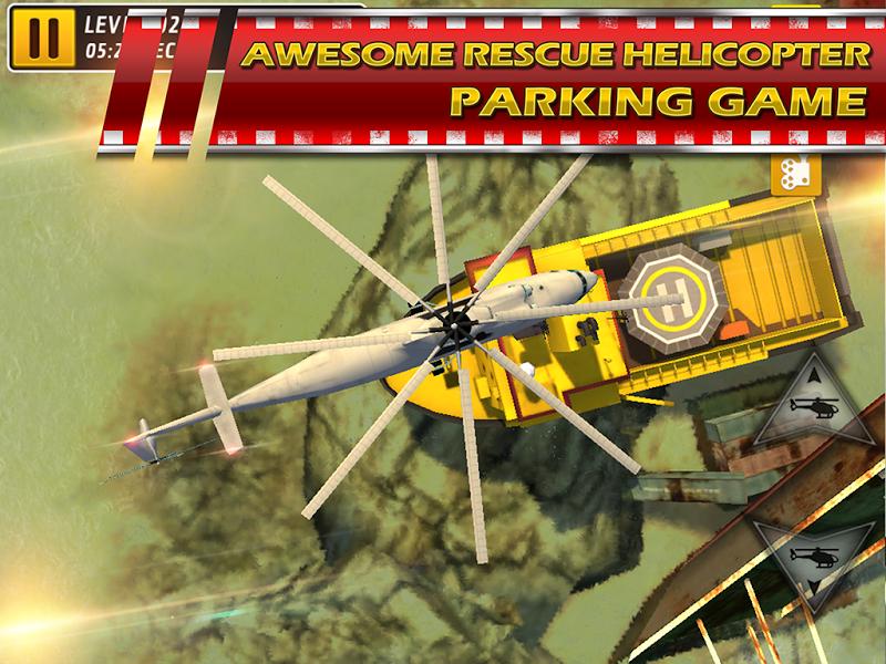 Скриншот Парковка Вертолета 3D