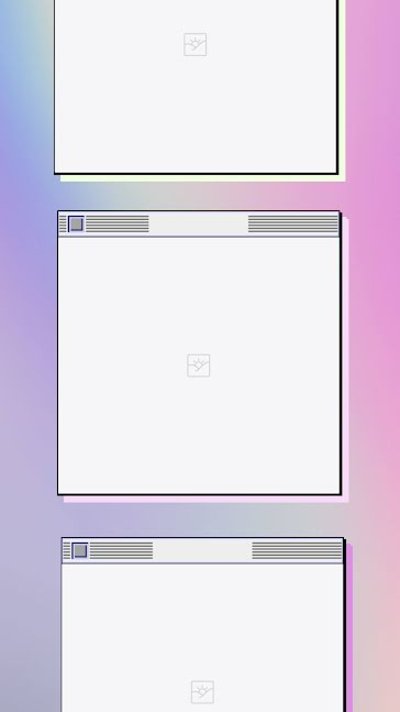 3 Popup Windows - Facebook Story Template