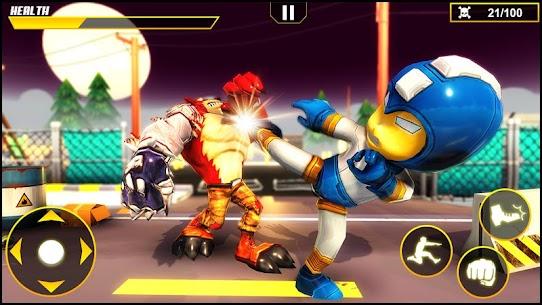 Beast Iron Rope Hero – Monster Stickman Hero Games 3