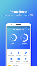 Max Optimizer Pro - easy to use & boost phone fast APK screenshot thumbnail 1
