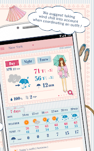 OshareWeather - For cute girls- screenshot thumbnail
