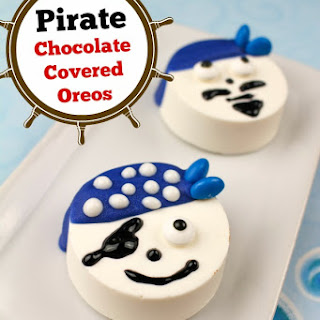 Pirate Chocolate Covered Oreos
