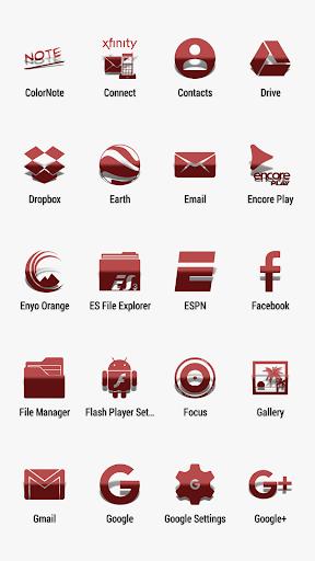 Kinis RR - Icon Pack screenshots 3