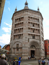 Photo: The Baptistry in Parma.