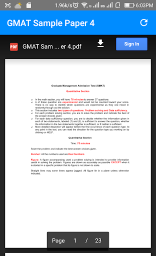 Gmat Question Paper Pdf