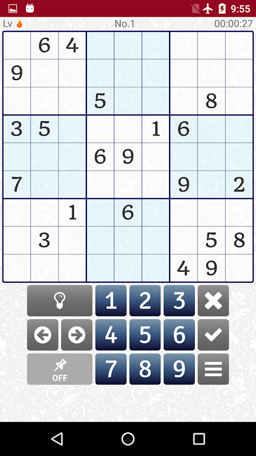 Extreme Difficult Sudoku 2500- screenshot