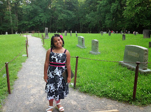 Photo: at the Primitive Baptist Church cemetery