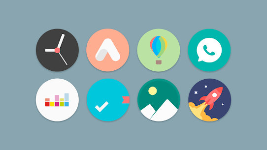 Flat Pie – Icon Pack 1.1 Patched 4
