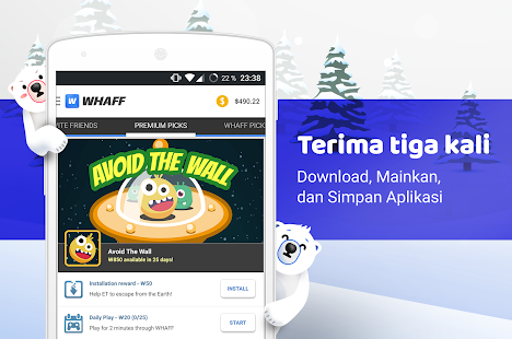 WHAFF Rewards, Pulsa Gratis- gambar mini screenshot