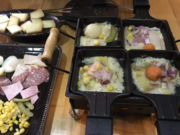 Le puzzle Creperie & Bar 法式薄餅小酒館,台灣也吃得到的法國家常美食 - 哈克雷起士鍋 Raclette