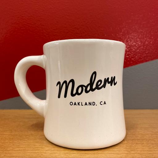 Modern Diner Mug - Made in the USA