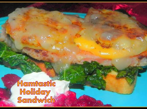 Hamtastic Holiday Sandwich Recipe