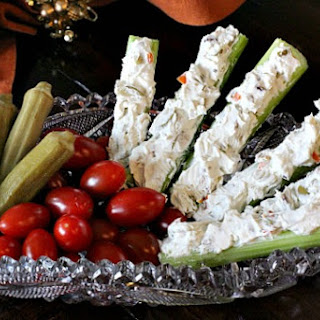Stuffed Celery Appetizer