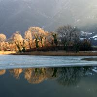 Il lago ghiacciato  di