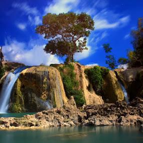 Toroan Waterfalls by 777aan Aan - Landscapes Waterscapes