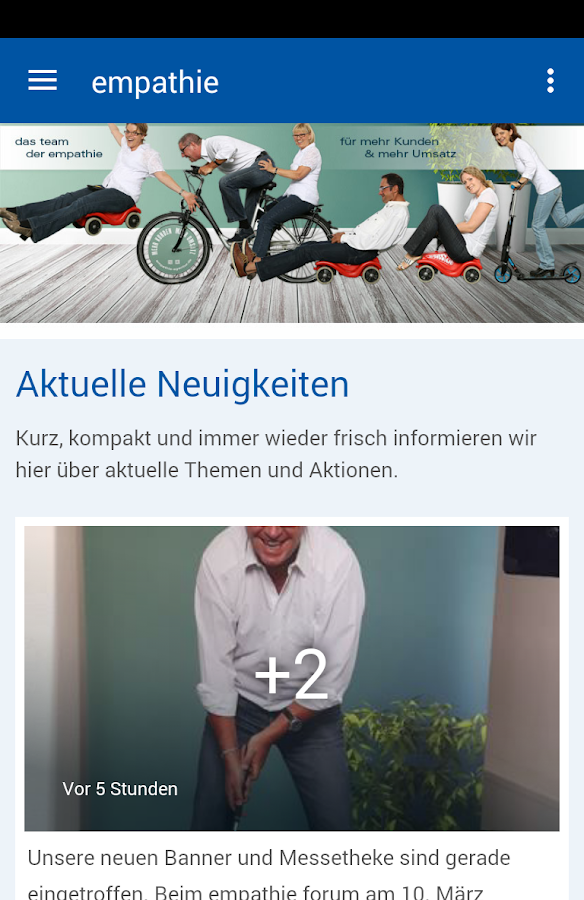 empathie agentur- screenshot