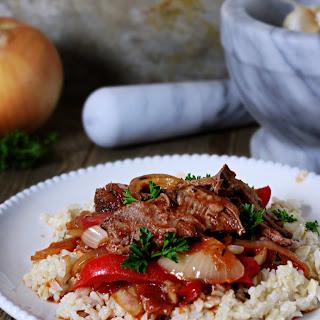 Slow Cooker Italian Beef.