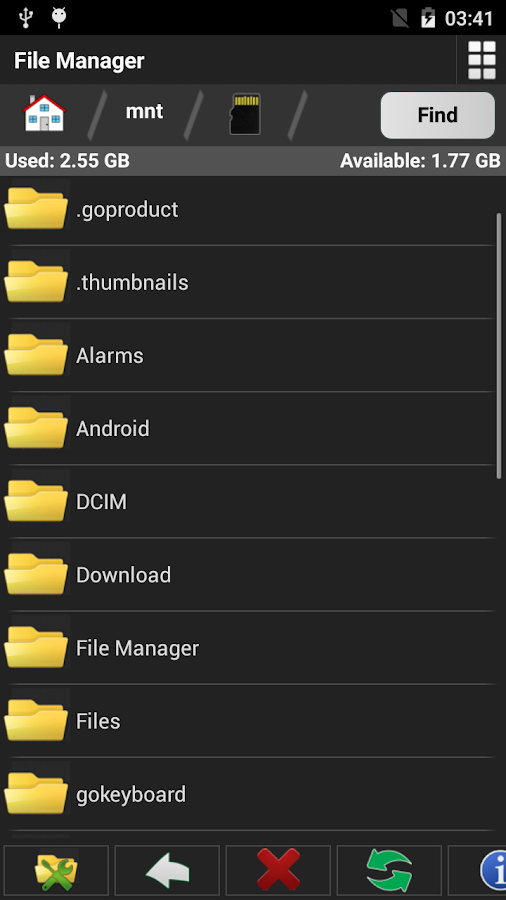 File Manager Free- screenshot