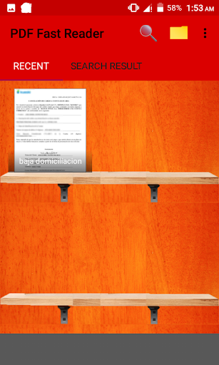 PDF Fast Reader 1.0.4 screenshots 1