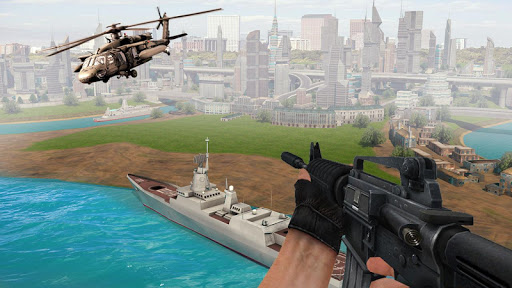 Air Force Shooter 3D - Helicopter Games  captures d'écran 1
