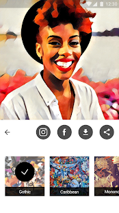 Prisma Beta Screenshot