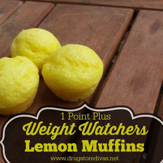 Weight Watchers Lemon Muffins (1 Point Plus or 2 Smart Points).