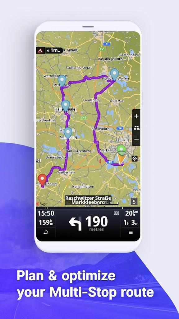 Sygic LKW GPS Navigation für Android - Apk Herunterladen