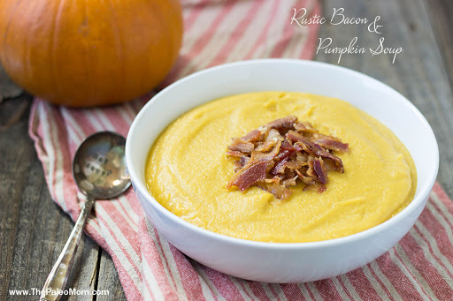 Rustic Bacon and Pumpkin Soup