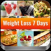 Weight Loss 7 Days - Diet Plan