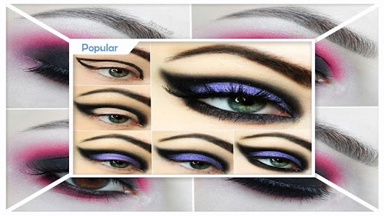 Cool Gothic Makeup Step by Step - náhled