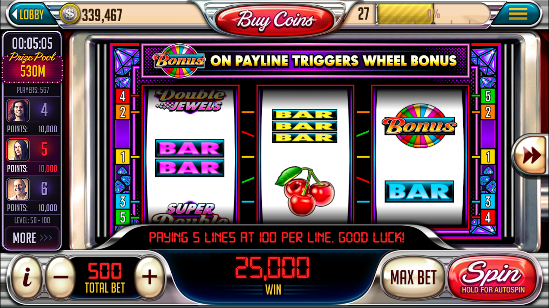 Play free on slot machines casino marango palm springs