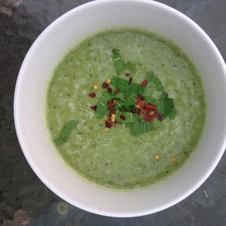 Pea And Mint Butterbean Soup