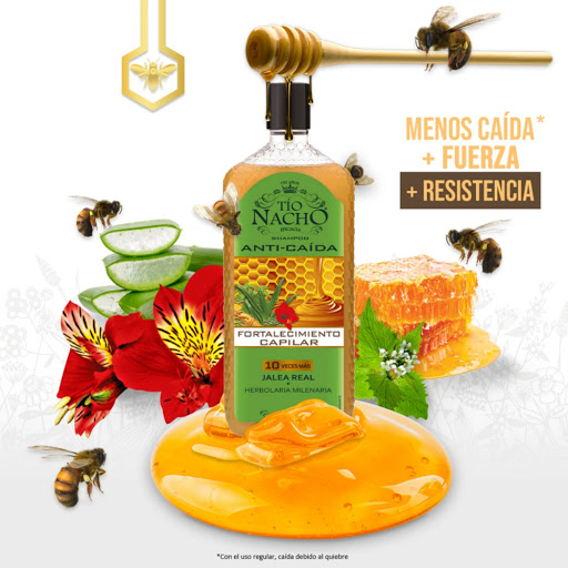 Tio Nacho Shampoo Capilar Fortalecimiento Capilar Herbolaria Milenaria 415 ML